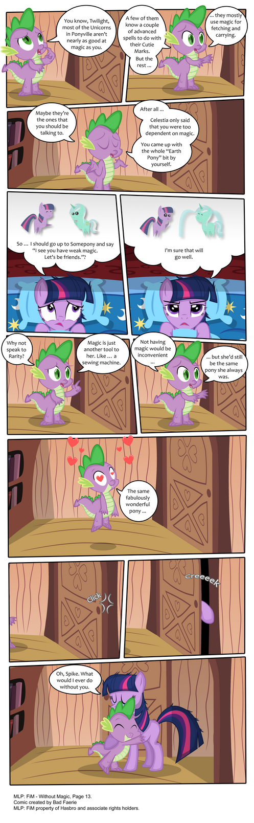 MLP: FiM - Without Magic Part 13 by PerfectBlue97