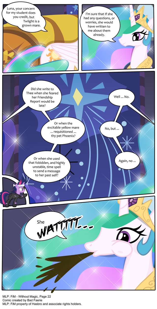 MLP: FiM - Without Magic Part 22 by PerfectBlue97