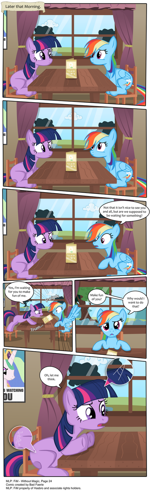 MLP: FiM - Without Magic Part 24 by PerfectBlue97