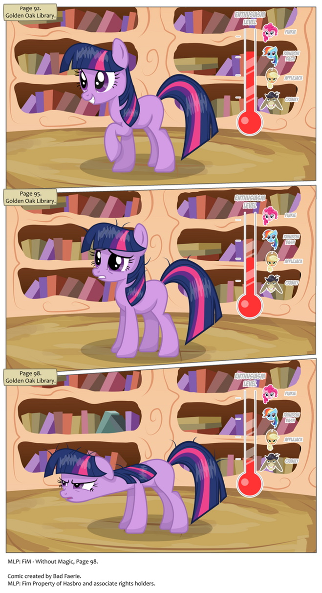 MLP: FiM - Without Magic Page 98 by PerfectBlue97