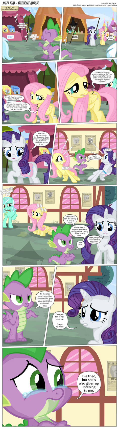 MLP: FiM - Without Magic Page 102 by PerfectBlue97