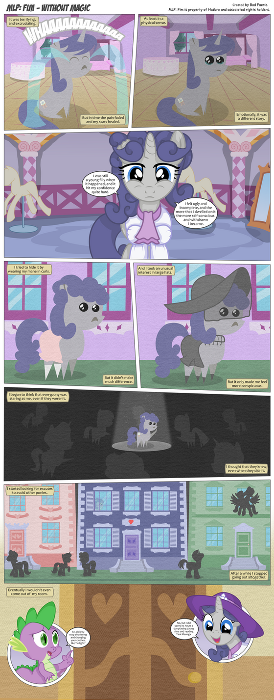 MLP: FiM - Without Magic Page 116 by PerfectBlue97