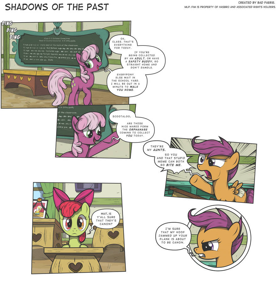 MLP:FiM - Shadows of the Past #17