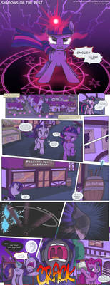 MLP:FiM - Shadows of the Past #44 by PerfectBlue97
