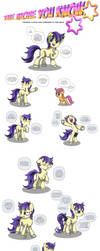 MLP:FiM - Shadows of the Past #69 by TheBadFaerie