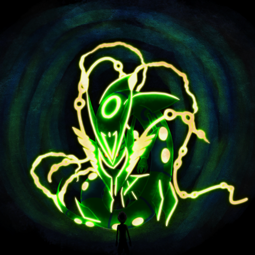 #384: Mega Rayquaza by Siseja-sama