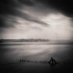 Rain Over Saint-Malo Bay by DenisOlivier