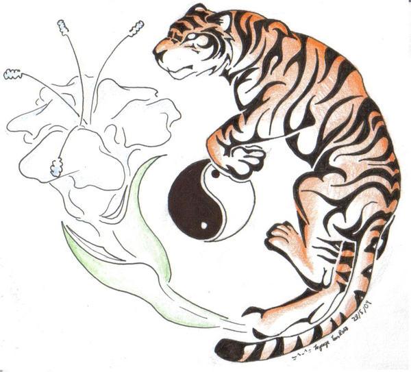 Tribal Tiger By Ruttan On Deviantart: Tribal Tiger By Tigz-Moonlight On DeviantArt