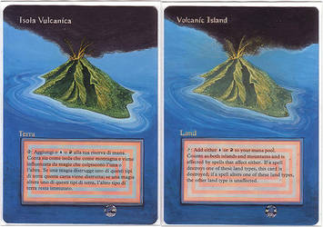 volcanic islands - altered mtg