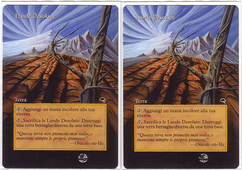 wasteland ita - mtg altered