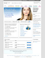 Web Template for a product by konnekt