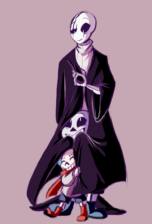 Dad and skelebros WARNING CUTE! by Mystymagicgamer on DeviantArt