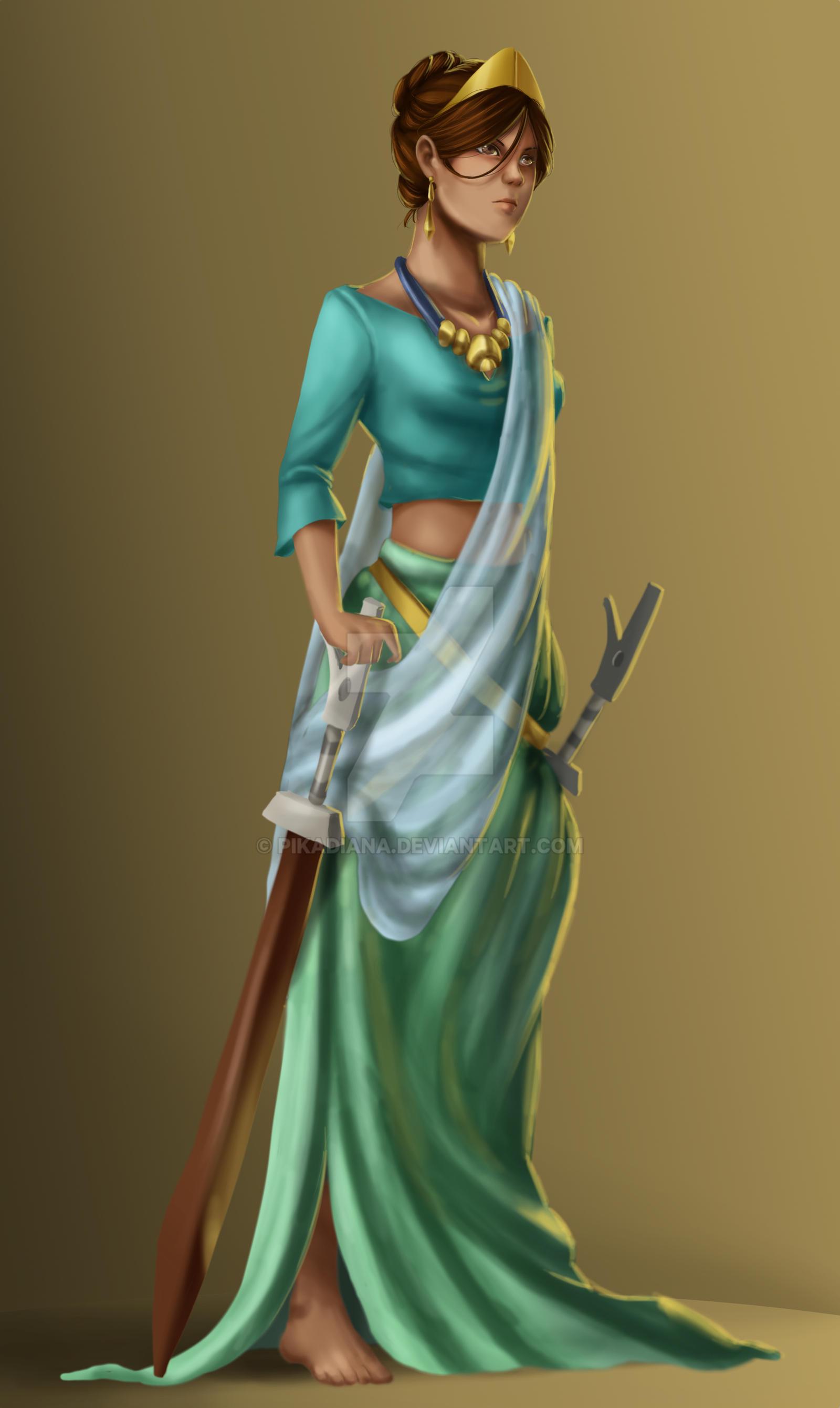 Princess Urduja by pikadiana