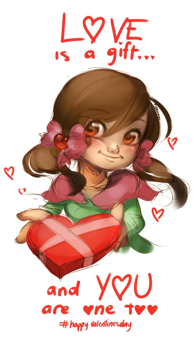 Valentines by pikadiana