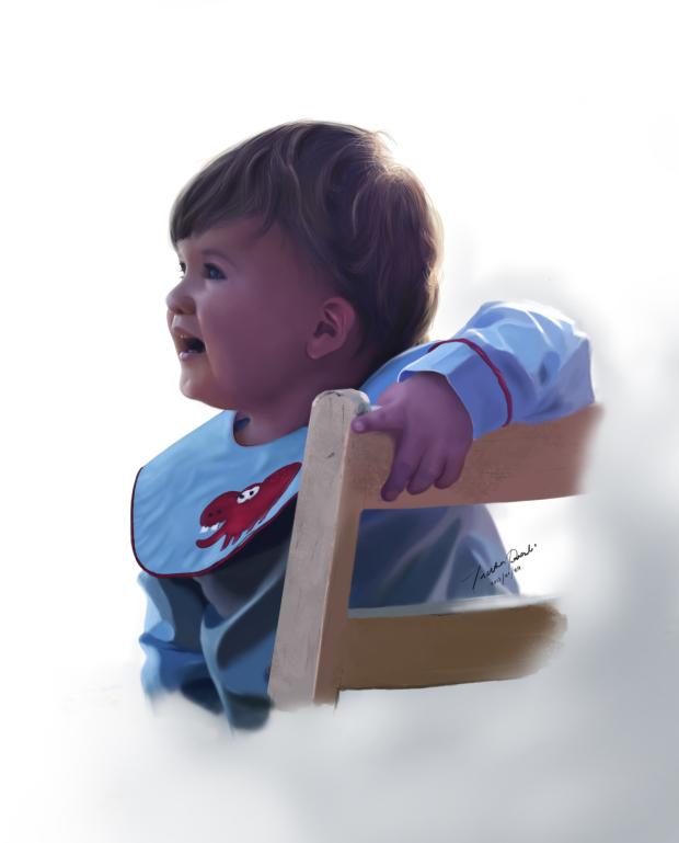 Baby by Indikaprasad