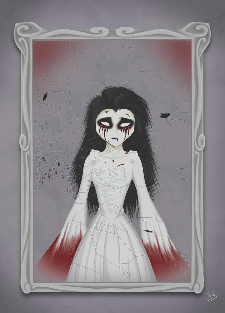 The Bloody Mary's mirror by Straasha-14 on DeviantArt
