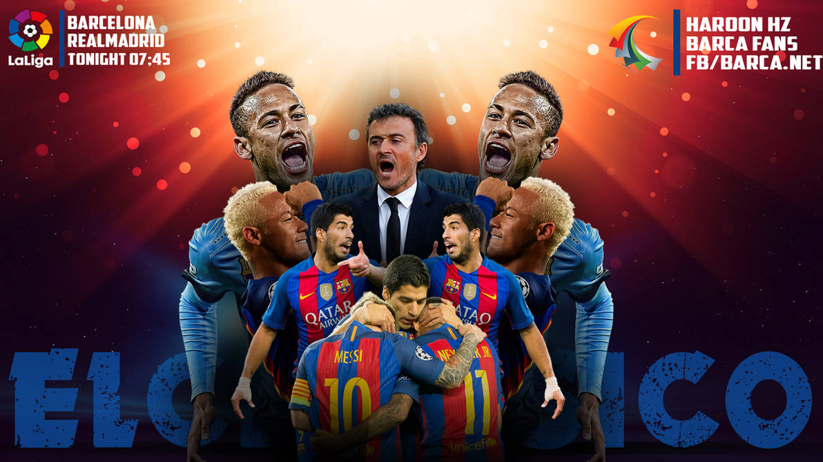 Elclasico Barcelona Wallpaper 20162017 By Afghan1180 On