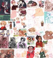 tumblr dump 36 EXTREME EDITION by mintlark