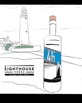 Lighthouse Vodka Ad #2
