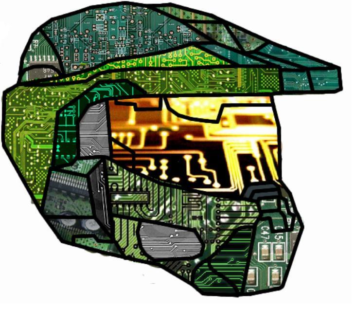 Master Chief Circuit Helmet by mushroomlvr