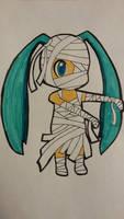 Mummy Hatsune Miku Chibi