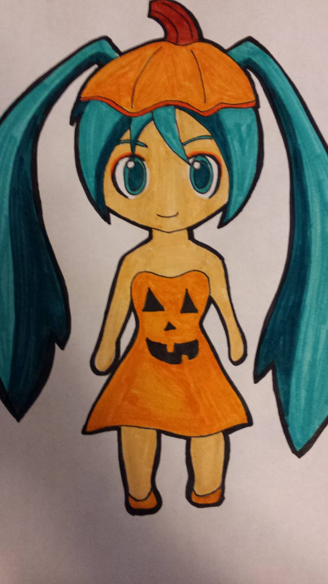 Pumpkin Hatsune Miku