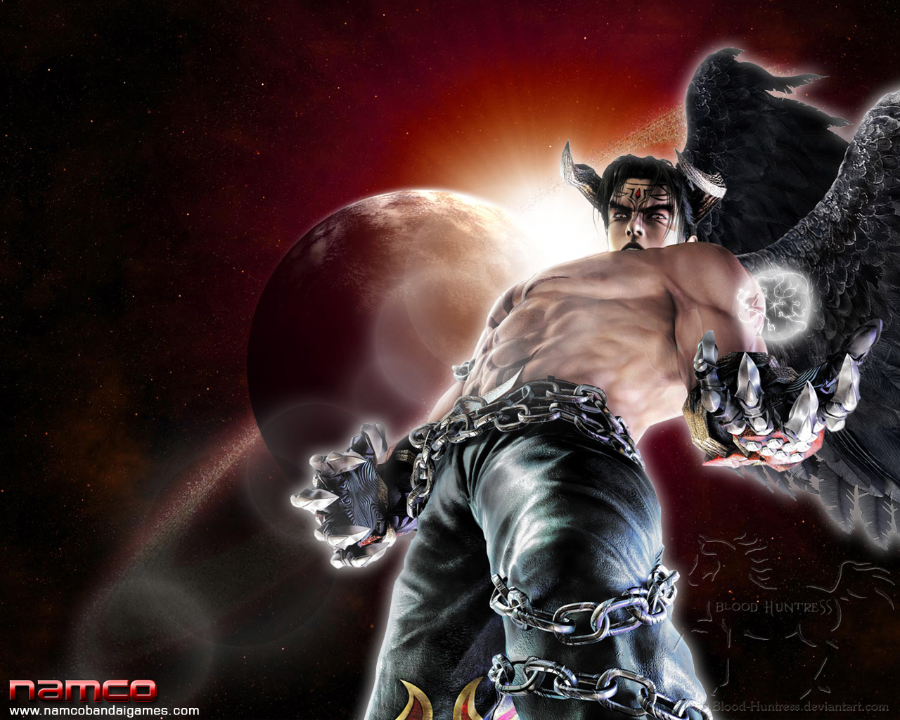 devil jin in tekken 5 drblood-huntress on deviantart