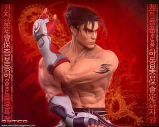 Jin Kazama 3 by Blood-Huntress