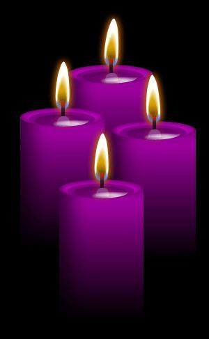 4 purple canldes by blood huntress on deviantart. Black Bedroom Furniture Sets. Home Design Ideas