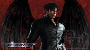 Jin Kazama - Black Wings 2012-04-07 - 1366 x 768