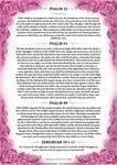 Psalm 23, 91, 99 + Jeremiah 29 v 11 Pink Version by Blood-Huntress