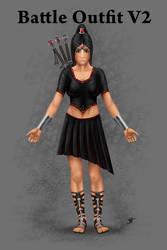 DM RP Profile Battle V2 by Blood-Huntress