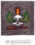 Cobra With Skull Illustration 2021-04-14