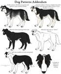 Dog Patterns Addendum