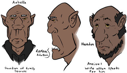 The Elder Ghouls by Leonca