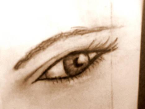 First eye sketch