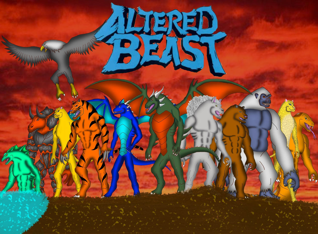 Altered Beast By Pyrus-Leonidas On DeviantArt