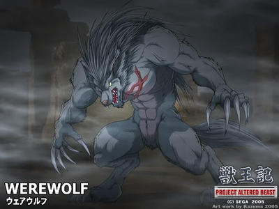 Project Altered Beast Werewolf Wallpaper by PyrusLeonidas on