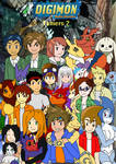 Art Trade: Digimon Tamers 2 Cover my style