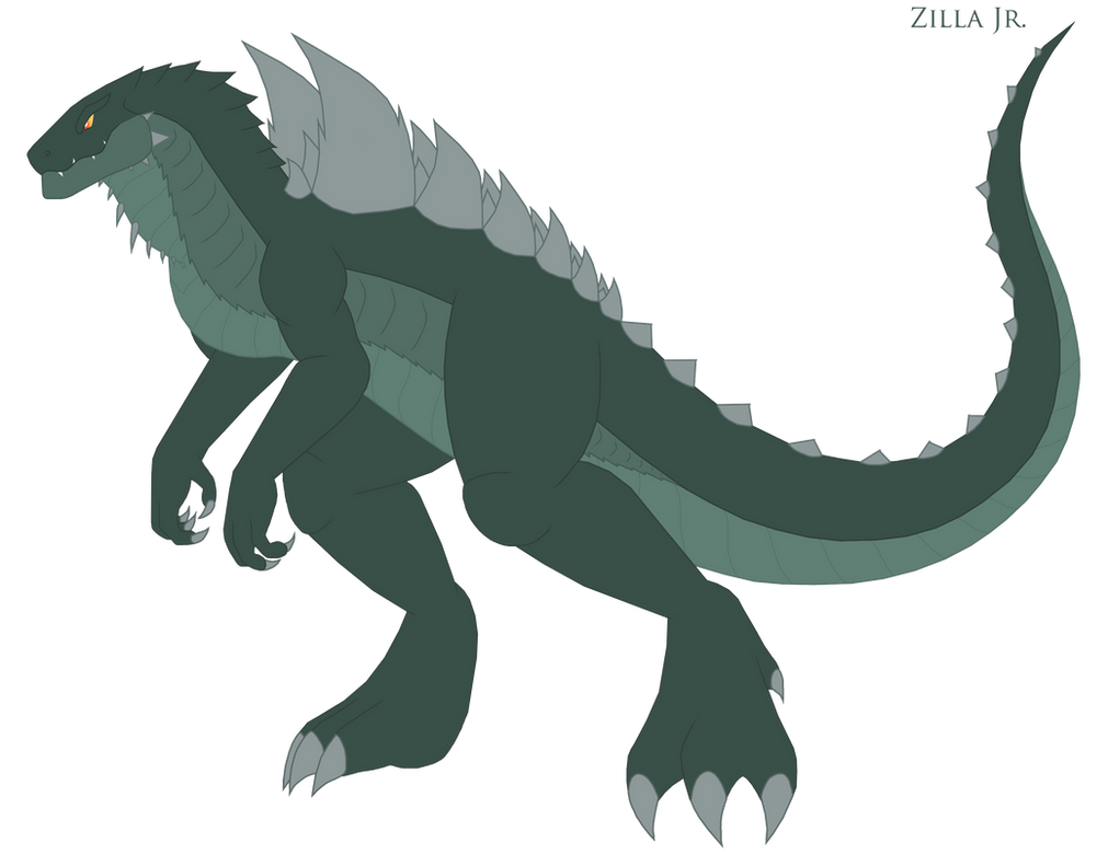 Zilla Junior By Pyrus Leonidas On DeviantArt