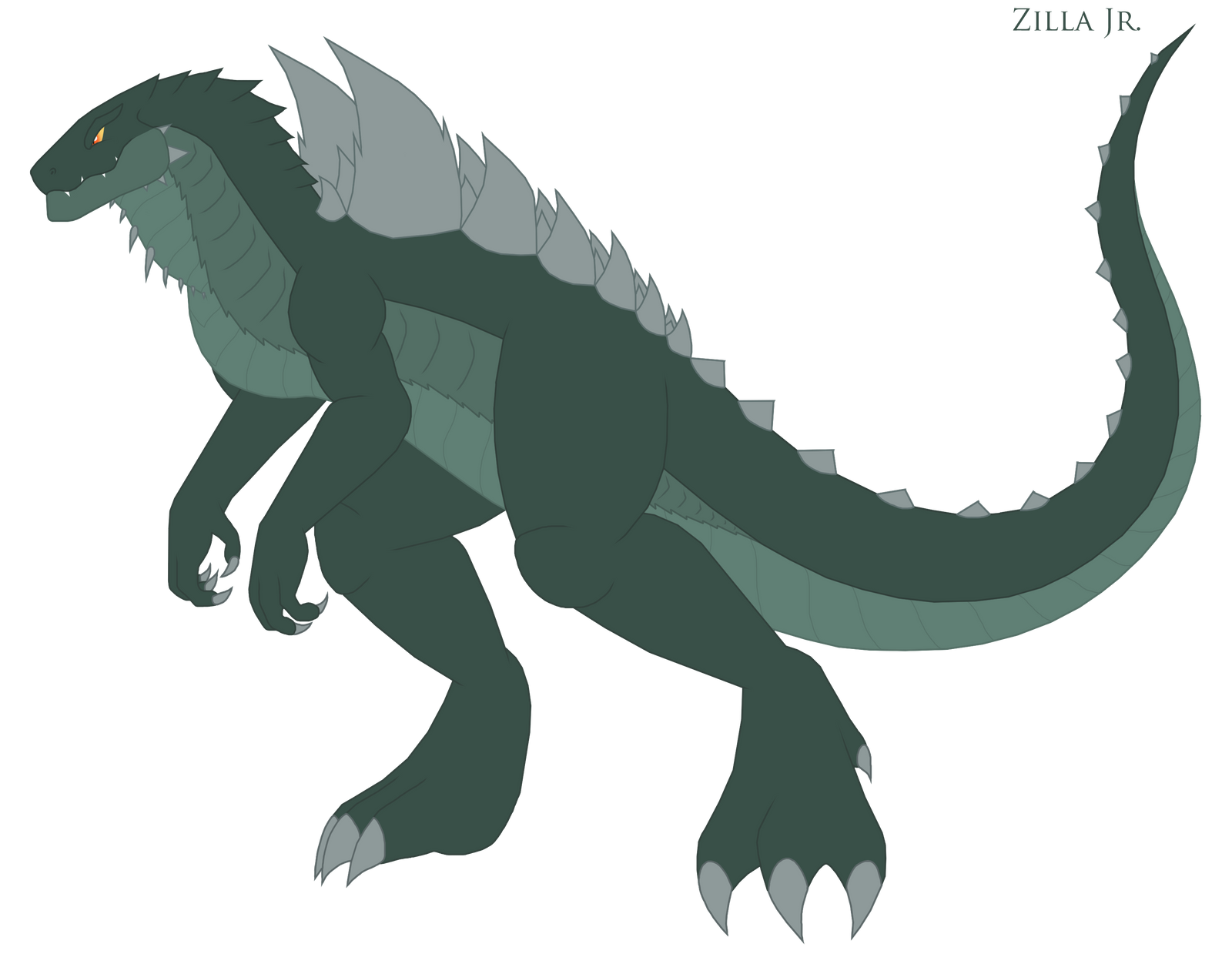 Zilla Junior By Pyrus Leonidas On Deviantart