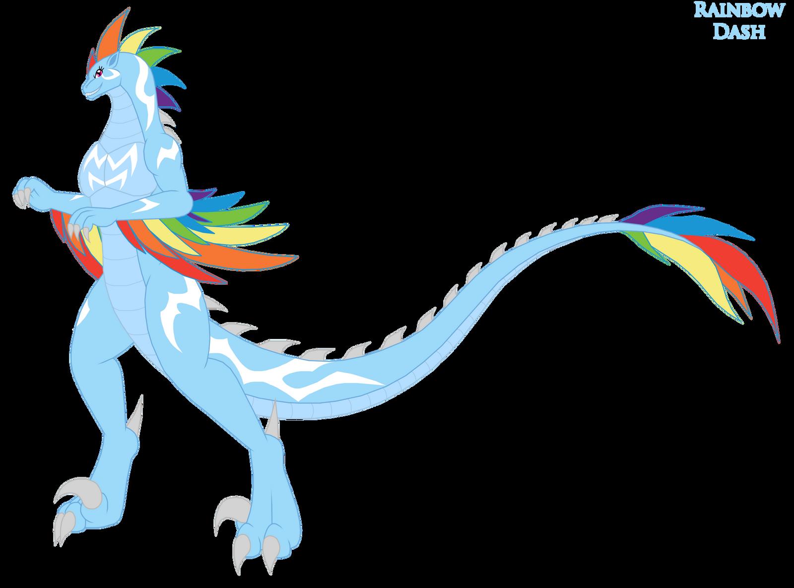 Rainbow Dash Kaiju Form by Pyrus-Leonidas on DeviantArt