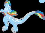 Rainbow Dash Kaiju Form