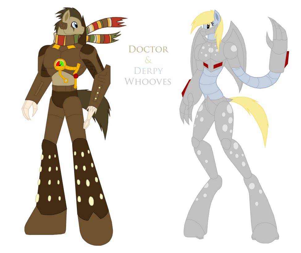 Doctor And Derpy Whooves Kaiju Forms By Pyrus-Leonidas On
