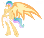 Princess Celestia Kaiju Form