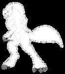 AT Kushina Wolf Kaiju Form
