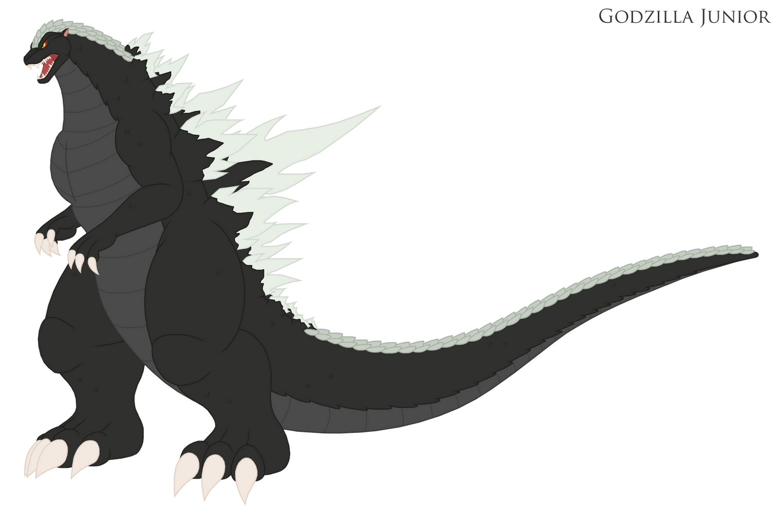 Godzilla Junior Alternate Design By Pyrus Leonidas On