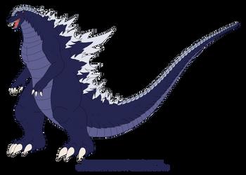Artemus Godzilla Kaiju Form by Pyrus-Leonidas