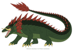Lizzie the Crocodile 2018 Redesign