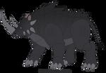 Boris the Rhino 2018 redesign